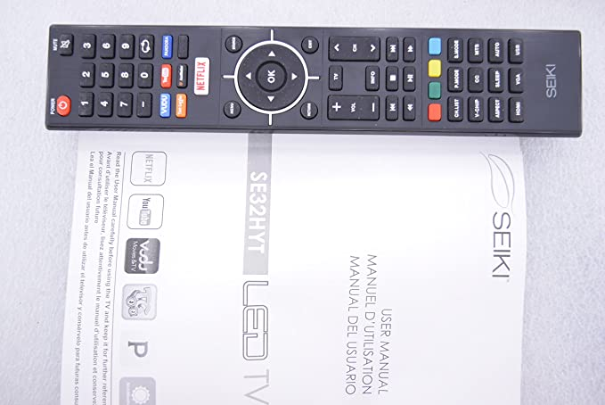 Seiki SE32HYT 20651 - Mando a distancia y manual de usuario: Amazon.es: Electrónica