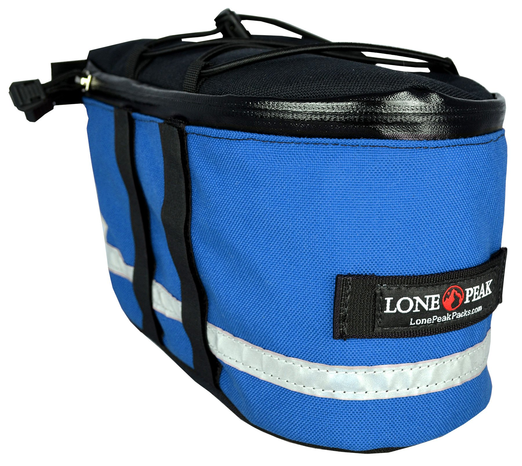 Lone Peak Micro Bicycle Rack Pack Bag blue by Lone Peak