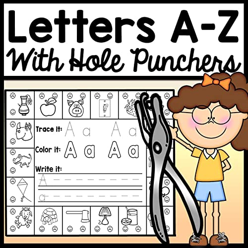 Letter Tracing And Letter Sound Practice {Alphabet Worksheets}