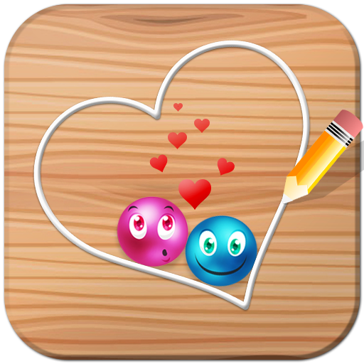 - Lovely balls : Play the draw luv dots brain game