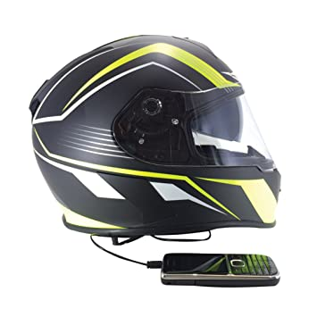 Viper HelmetsRSV8 - Casco integral de moto, estéreo 61-62 cm Primo