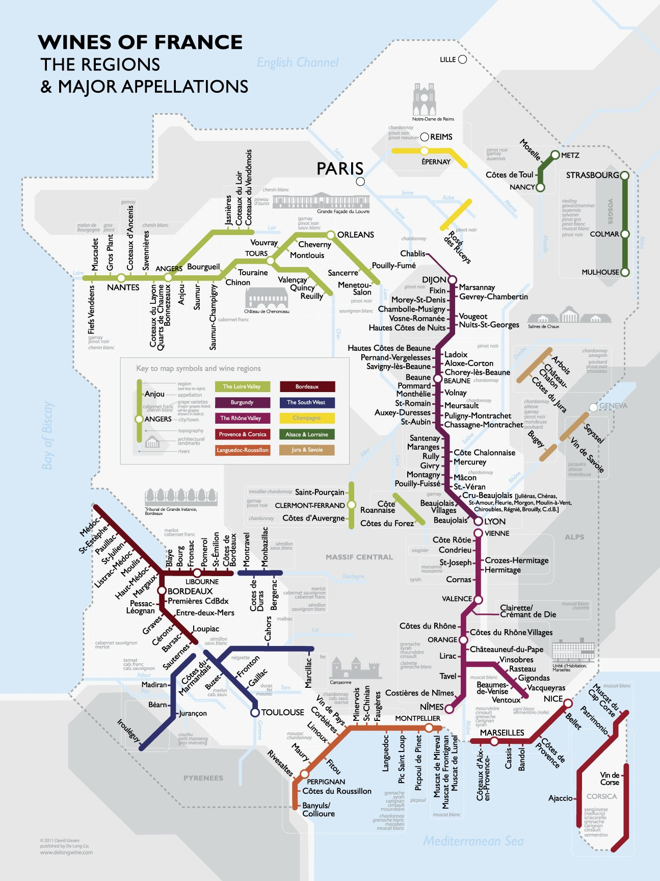 Map Of France Jura.Metro Wine Map Of France David Gissen 9781936880041 Amazon Com Books