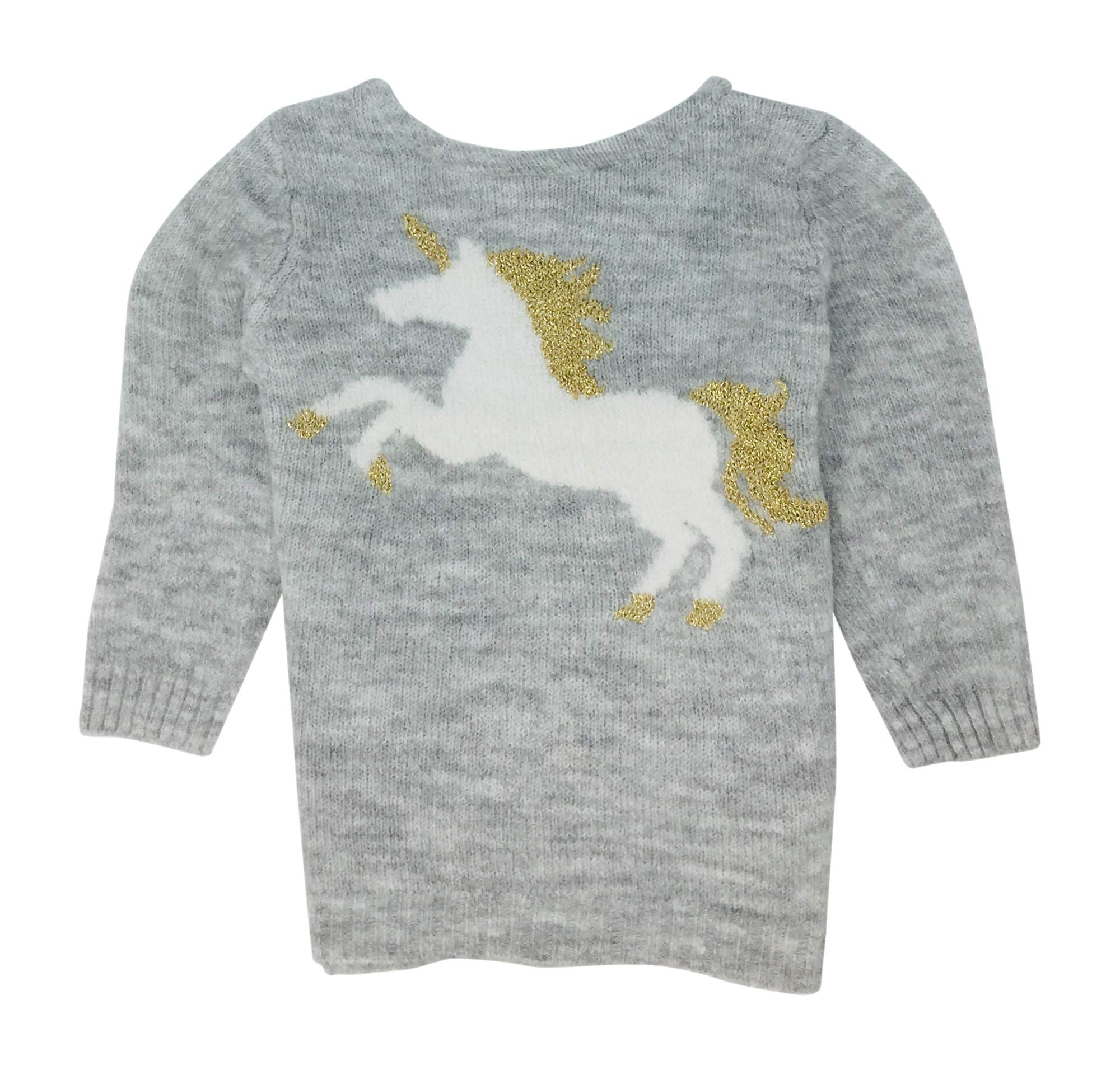 Carter's Pullover Sweater for Toddler Girls (Unicorn, 2T) by Carter's