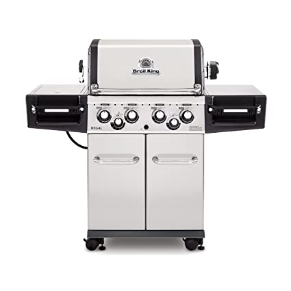 Amazon.com: BROIL KING 956184 Regal 490 Gas Propano líquido ...