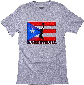 Playera de Baloncesto para Hombre con Bandera de Puerto Rico ...
