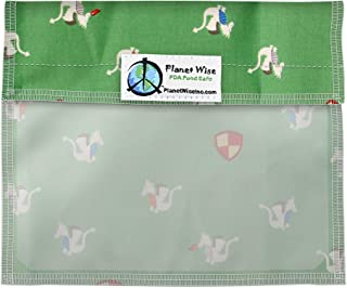 product image for Planet Wise Window Sandwich Bag, Magic Dragon