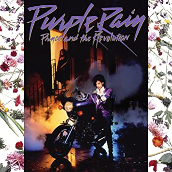 Image result for purple rain album cover