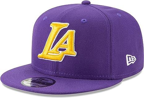 New Era Onc Bh19 950 Loslak Gorra Línea Los Angeles Lakers, Hombre ...