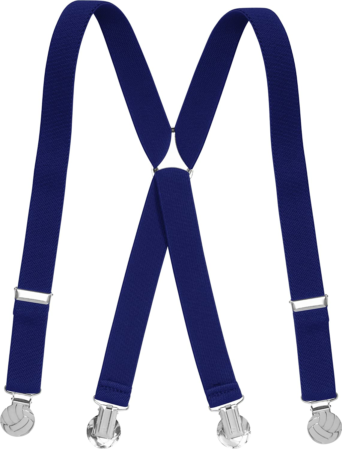 Playshoes BoyS Kids Fully Adjustable Elasticated Suspenders with Football Clips Braces