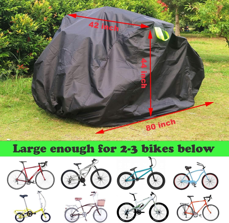 TELO Copribici COPRIBICICLETTA Copertura 2//3 Biciclette Bike Bici su Auto Camper