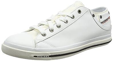 3f4c2713497e2 DIESEL Exposure Low I, Baskets Homme, Blanc (White), 39 EU  Amazon ...