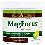 MagFocus - Lemon Lime Flavored Magnesium Threonate Powder - 60 Servings - by Suzy Cohen, RPh.