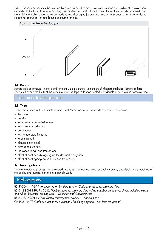 Schwarz Heavy Duty Pe Kunststoff Rolle Platten Dpm Dpc Feuchten Board Flexible Circuit Proofing Doublesided Can Make Proof Membran 4 M X 25 250 Mu 1000 G Bba Baumarkt