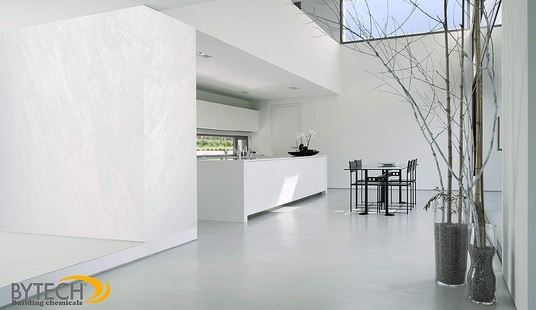 Bytech Pittura Decorativa Da Parete Perlata Riflessi Sabbia 2 Kg Colore Bianco Perlato Amazon It Fai Da Te