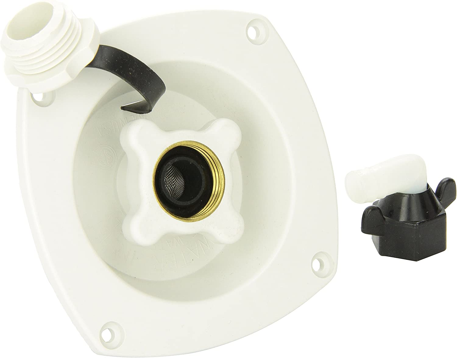 SHURFLO (183-029-18 White City Wall Mount Pressure Regulated Water Entry