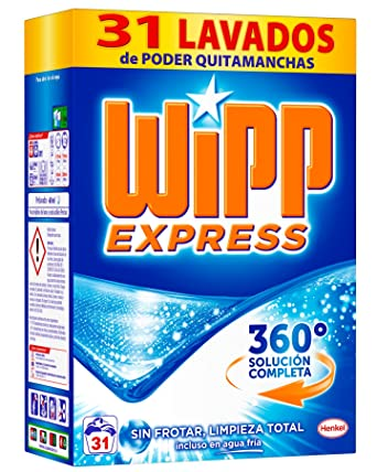 WiPP Express Detergente en Polvo - 31 Lavados (1,9 Kg)
