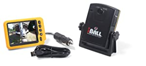 iBall 5.8GHz Wireless Magnetic Trailer Hitch Rear View Camera LCD Monitor Fits Any Vehicle, Car or Truck