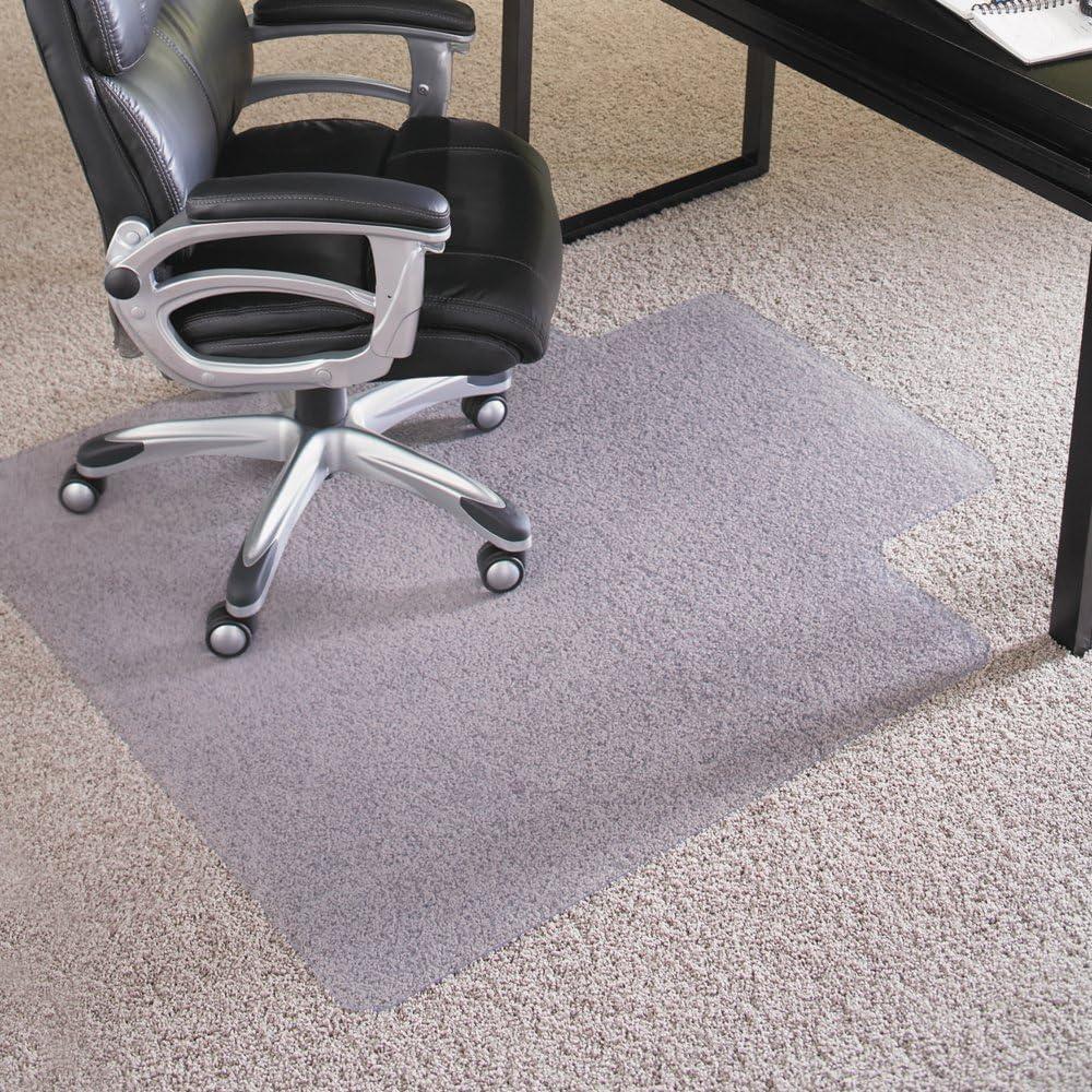 ES Robbins 124054 36×48 Lip Chair Mat, Performance Series AnchorBar for Carpet up to 1