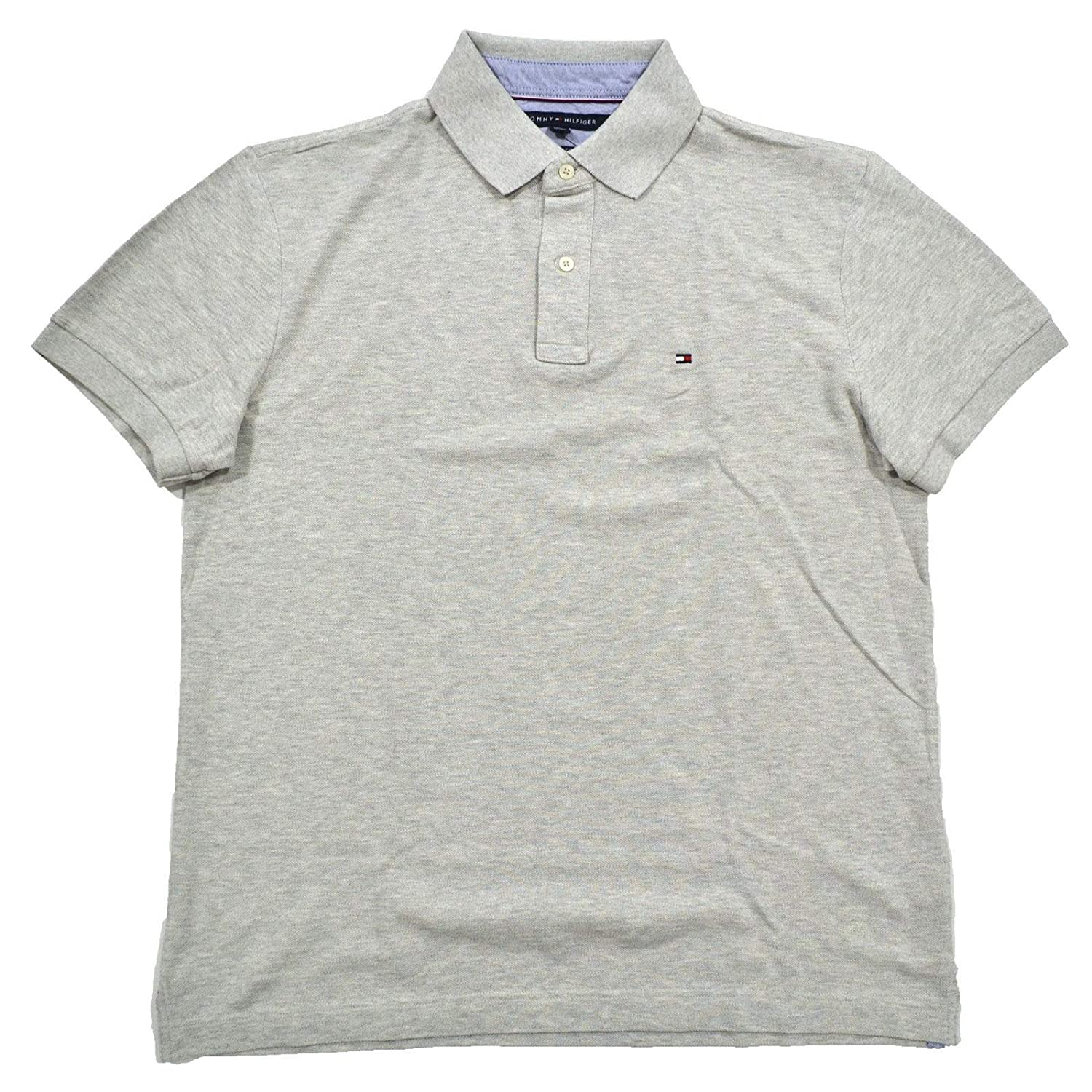 ebc95024b Tommy Hilfiger Mens Custom Fit Solid Color Polo Shirt: Tommy Hilfiger:  Amazon.ca: Clothing & Accessories