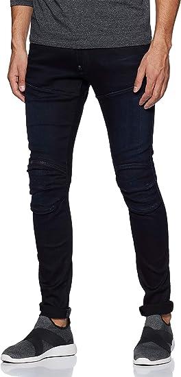 G-Star Raw Mens 5620 3D Zip-Knee Super Slim-Fit Jean