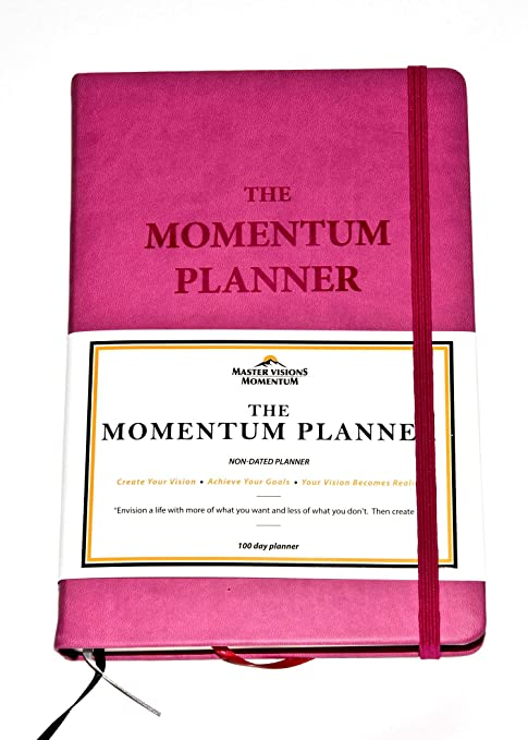 amazon com the momentum productivity planner undated planner