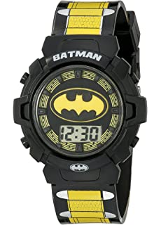 DC Comics Batman Kids BAT4177 Digital Display Quartz Multi-Color Watch