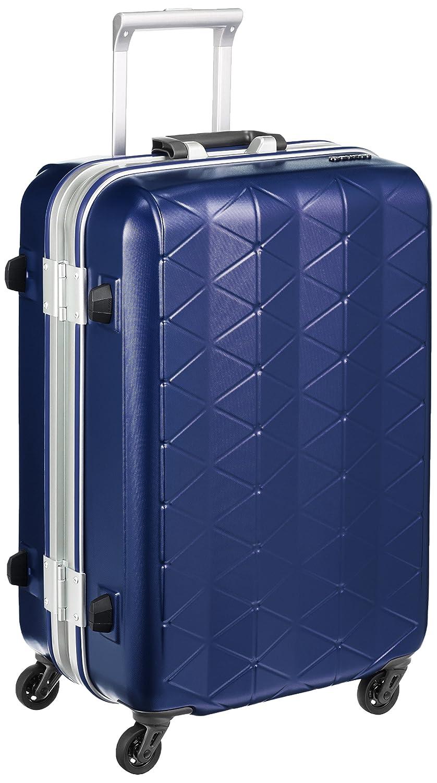[サンコー] SUPERLIGHTS MGC スーツケース スーパーライト 軽量 中型  抗菌ハンドル マグネシウムフレーム 容量56L 縦サイズ63cm 重量3.5kg MGC1-57  エンボスネイビー B01GZFF9JU