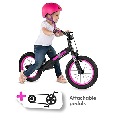 smarTrike 3 Bikes in 1, Convertible Balance to Pedal Bike for Kids Ages 3-7 - Pink: Sports & Outdoors