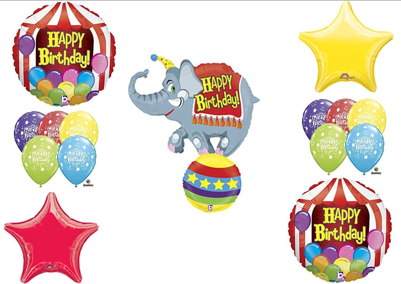Amazon Circus Elephant Big Top Birthday Party Balloons