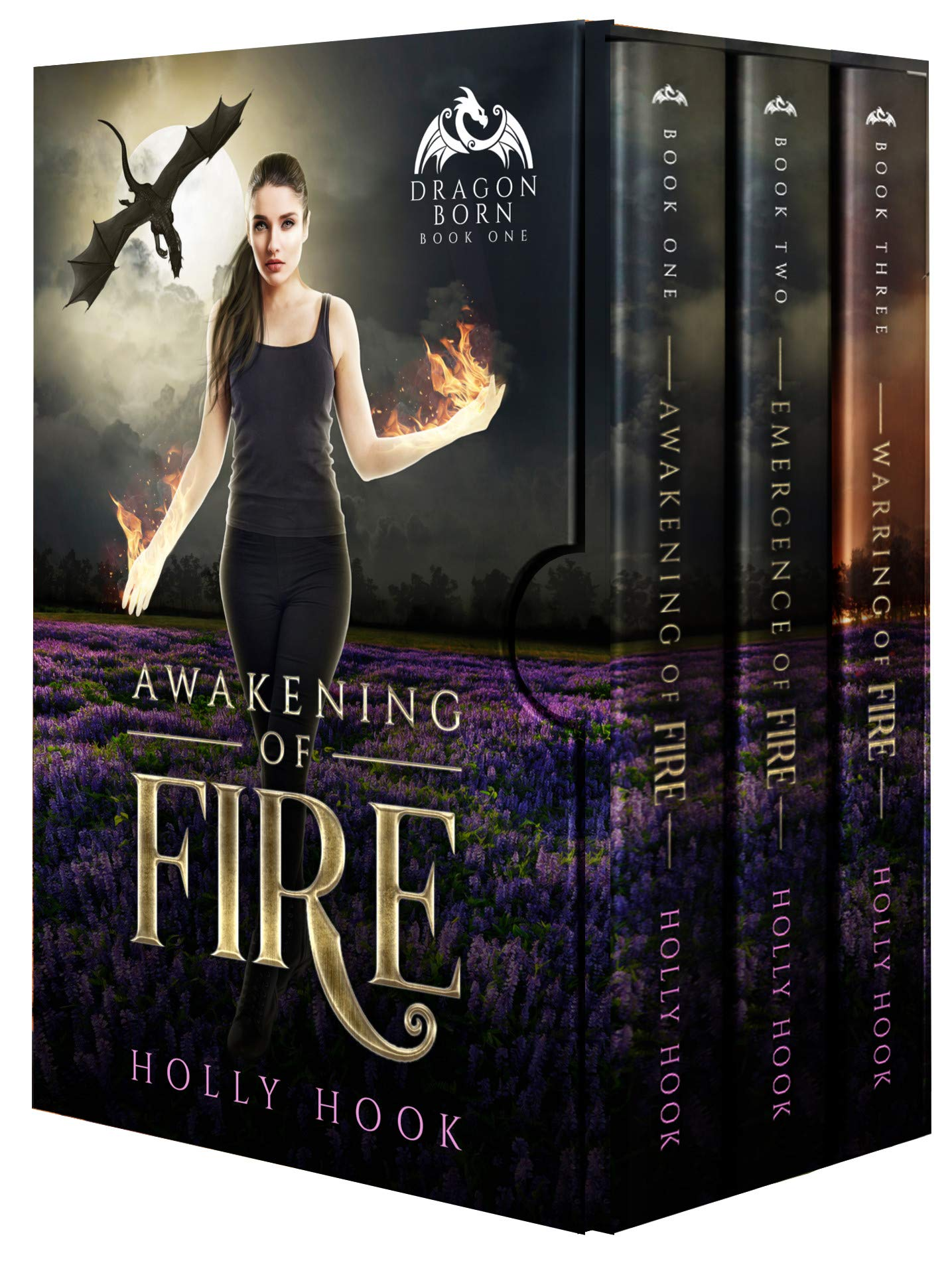 The Dragon Born Trilogy Box Set (Books 1-3)(A Teen Shifter Romance) (English Edition)