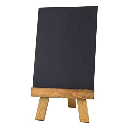 Chalkboards UK Pizarras de Mesa con Caballete y Pizarra ...