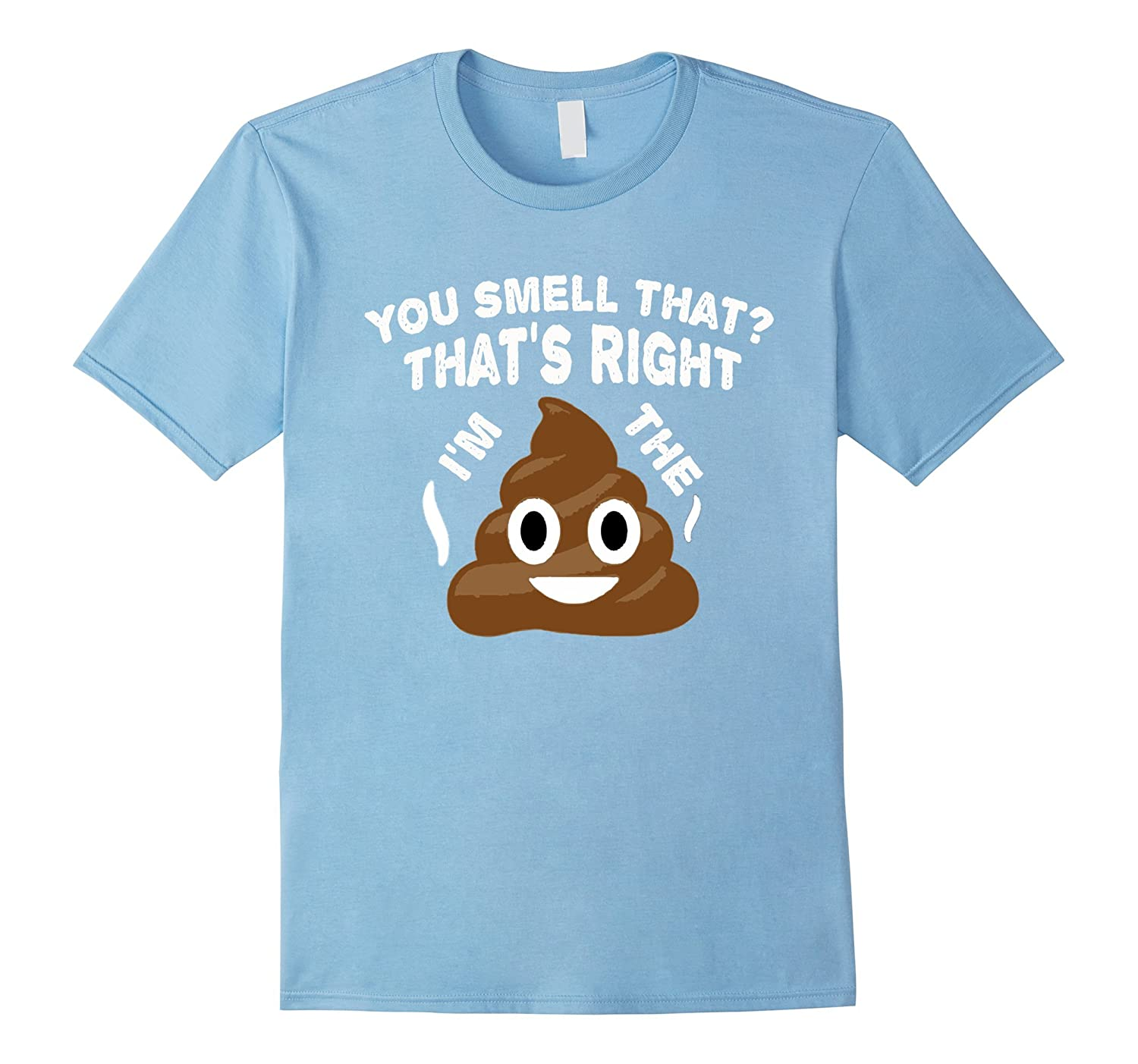 You Smell That Shirt - Funny Poop Emoji Shirt-Rose