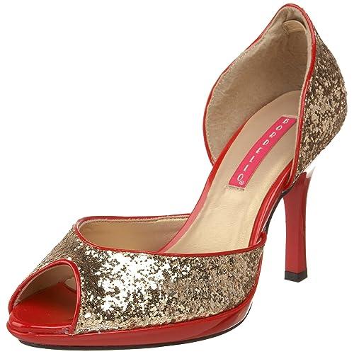 De 38 Bordello Para Size 5 06g Vestir Storm Zapatos Mujer Dorado zxzgq4Swt
