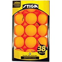 Stiga - Pelotas de Tenis de Mesa (1 Estrella, 38 Unidades)