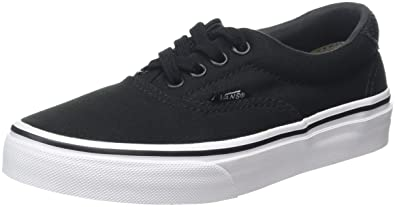 Amazon.com | Vans Kids Era 59 (C&P) Black/True White Skate Shoe 2M ...