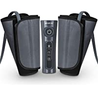 CINCOM Leg Massager for Circulation Air Compression Calf Wraps with 2 Modes 3 Intensities