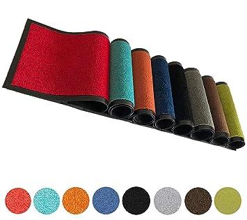 Schmutzfangmatte in vers Größen /& Farben Fußmatte Türmatte Fußabtreter Matte