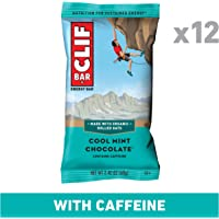 CLIF CLIF BAR Cool Mint Chocolate (Box of 12), 12 x 68 g