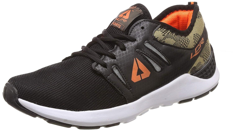 Lancer Men's Black Orange Running Shoes