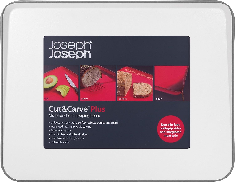 Compra Joseph Joseph Cut&Curve Plus - Tabla de Cortar o trinchar ...