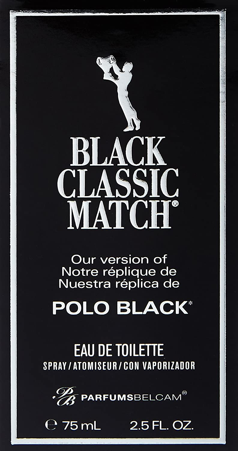 Amazon.com : Black Classic Match, version of Polo Black Eau de ...
