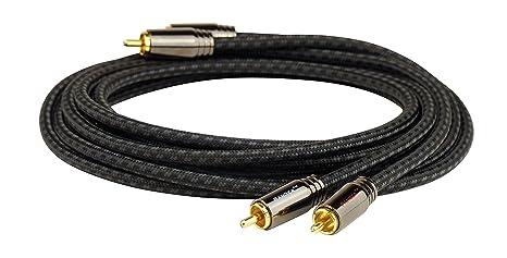 pangea rca  Pangea 205445 Interconnect cavo RCA, 0,6 m NERO: : Elettronica