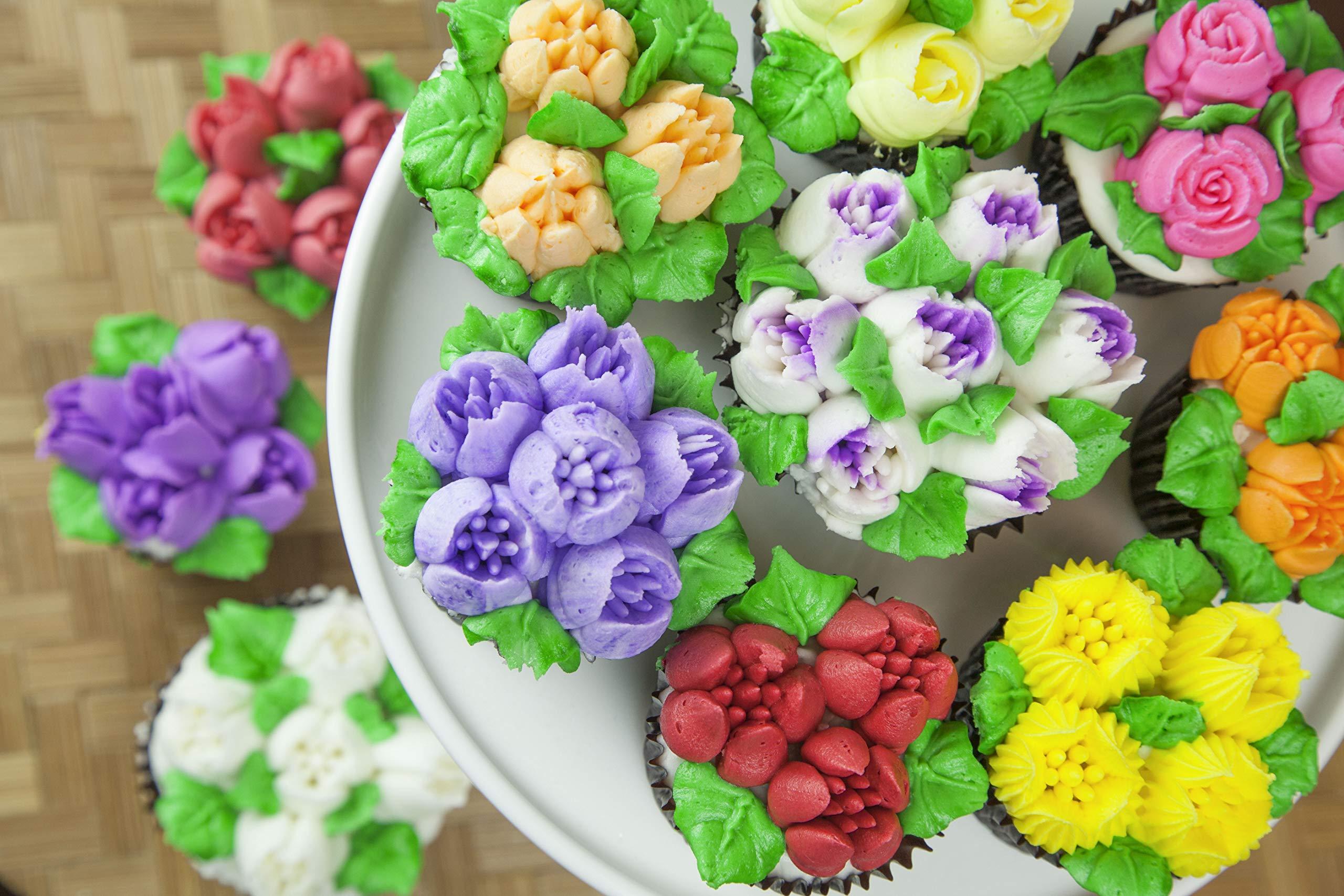 Global Sugar Art, Master Premium Food Coloring Gel Kit, Twenty Four Colors 3/4 Ounce by Chef Alan