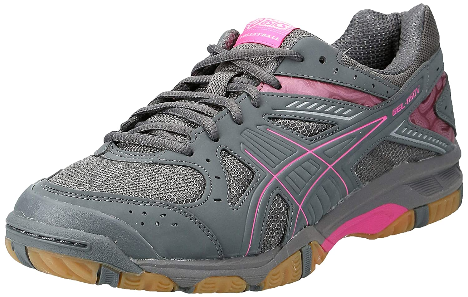 ASICS Women's Gel 1150V Volley Ball Shoe,SmokeKnock out