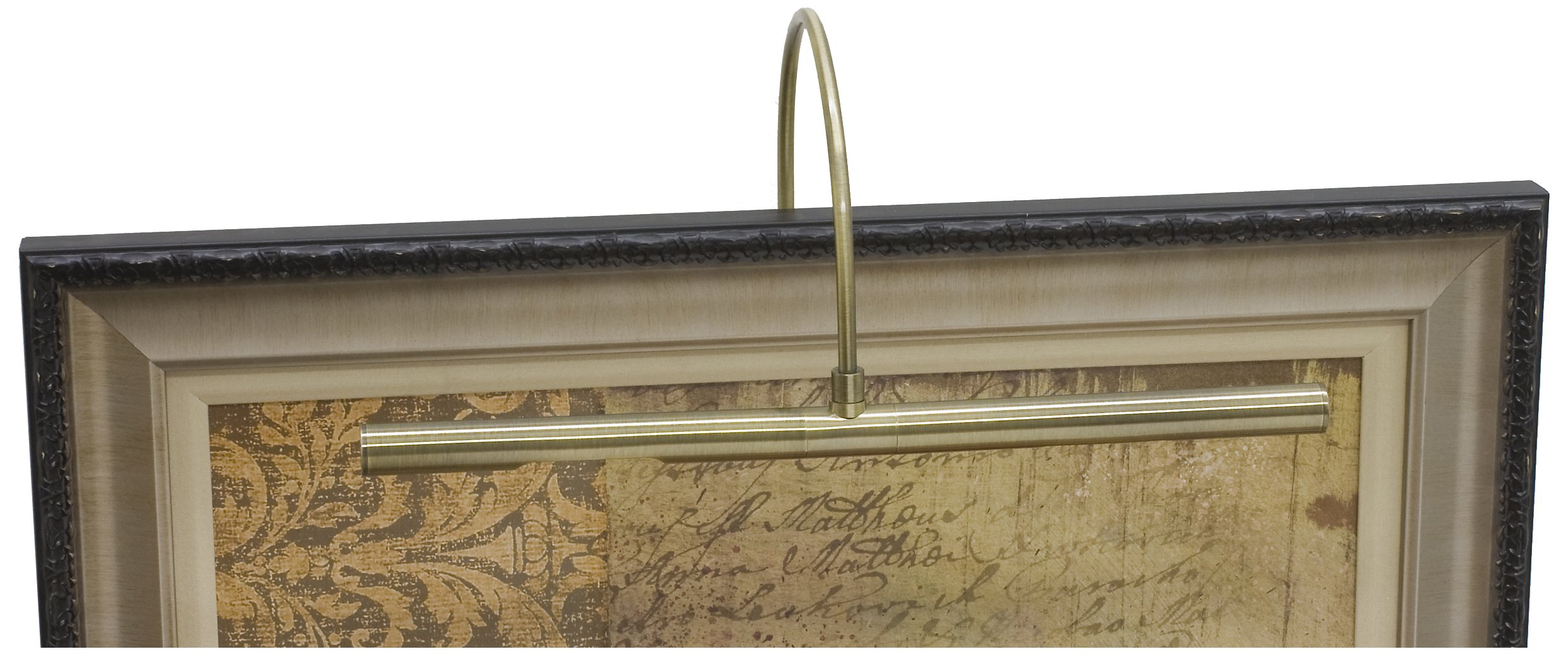 House of Troy APR16-71 Advent Profile Picture Light, 16'', Antique Brass
