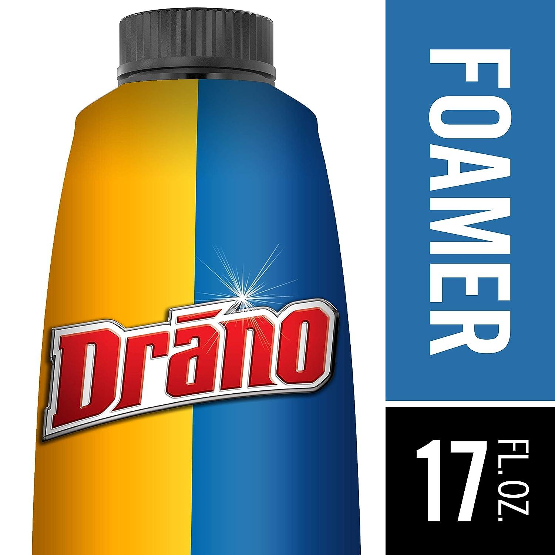 Amazon.com: Drano Dual Force Foamer Clog Remover-17 oz.: Health ...