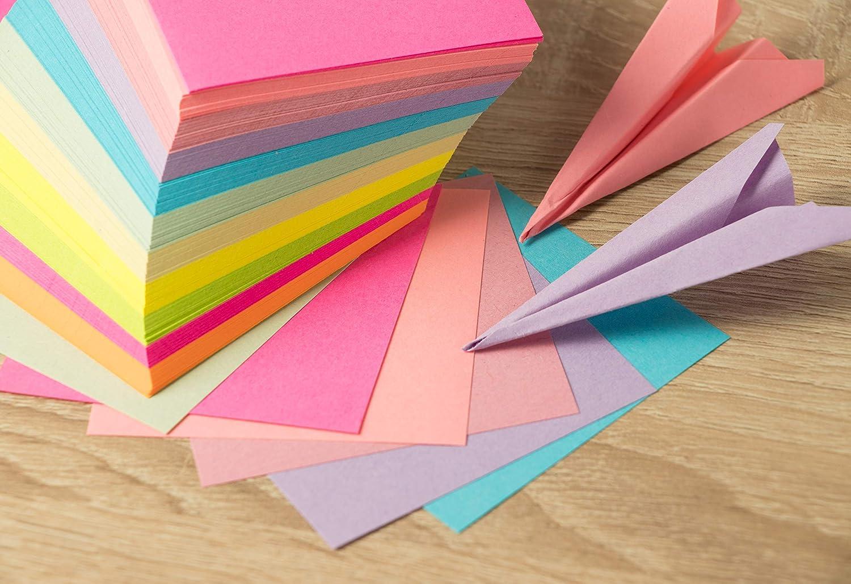 Amazon.com: Papel origami de doble cara – hojas de origami ...