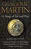 A Game of Thrones: The Story Continues Books 1-5: The epic fantasy series that inspired the worldwide phenomenon Game of…