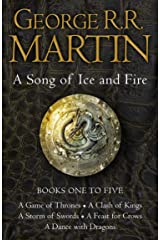 A Game of Thrones: The Story Continues Books 1-5: A Game of Thrones, A Clash of Kings, A Storm of Swords, A Feast for Crows, A Dance with Dragons (A Song of Ice and Fire) Kindle Edition