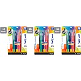 Pilot Frixion Gel Ink ColorSticks Pens, 10 Count - 3 Pack